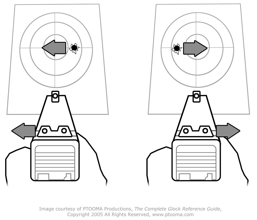 how to clear shooting better peep sights